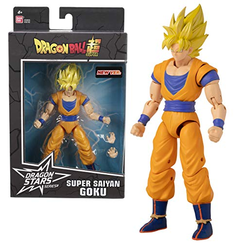 Dragon Ball Super - Figura de acción Deluxe (GOKU SUPER SAIYAN)