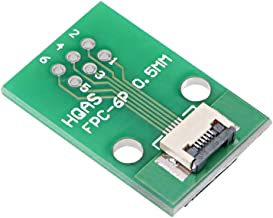 uxcell FFC FPC 6 Pin 0.5mm Pitch to DIP 1.0mm PCB Converter Board Couple Extend Adapter