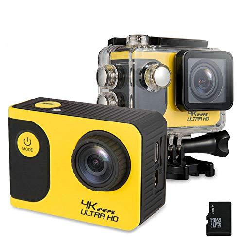 Action Camera 4K Waterproof Sports +16G Memory Card