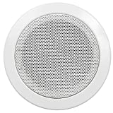 'altoparlante da incasso Hollywood'DL 11, Ø 115 mm, 50 Watt, colore: bianco