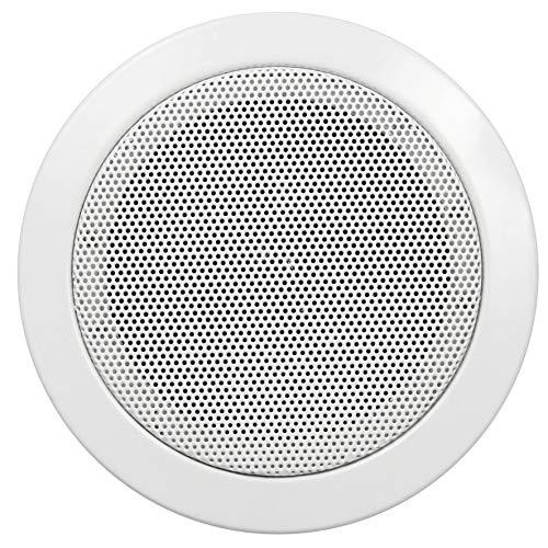 Hollywood DL-11 - Altoparlanti da incasso, Ø 115 mm, 50 Watt, colore: Bianco