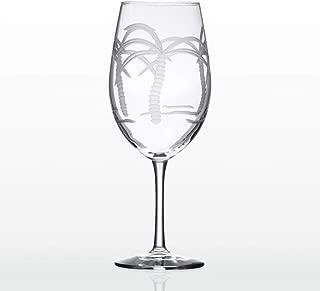Rolf Glass 18 oz. Palm Tree Wine Goblet One Size