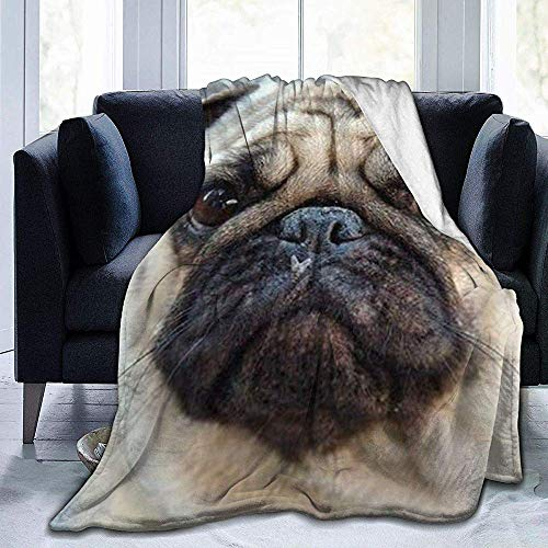 wobuzhidaoshamingzi deken van molton, extra zacht, voor honden, pluche, flanel