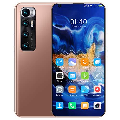 Smartphones SSS@ M10 Ultra vertrag günstiges Android 10 Handy, 7.2 Zoll Full HD+ Display, 6000mAh großer Akuu, Dual-SIM, Face ID & Android 10.0