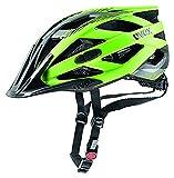 Uvex I-Vo CC Casco de Ciclismo, Unisex Adulto, Verde/Negro, 52-57 cm