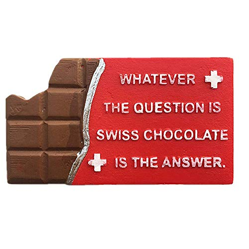 3D Zwitserse Chocolade Zwitserland Koelkast Magneet Reizen Souvenir Gift Collection Thuis keuken Decoratie Magnetische Sticker Zwitserland Koelkast Magneet