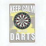 N\C Dartboard Dart Home Board Drinks Vintage...
