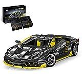 HYZM Technic Sports - Bloques de construcción para coche, 3789 piezas, Lambo Centenario Supercar, compatible con LEGO Technic
