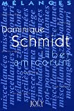 Mélanges en l'honneur de Dominique Schmidt - Liber amicorum
