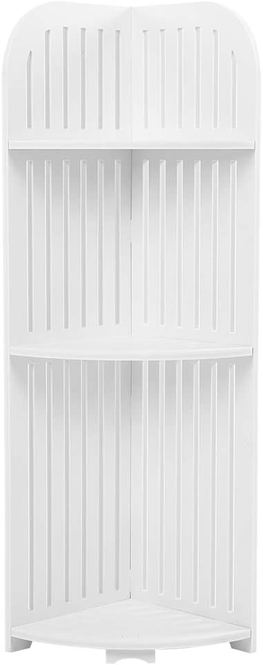 Sale SALE% OFF OhhGo 3-Tier White Hollow Carved Bathroom 25% OFF R Shelf Corner Storage