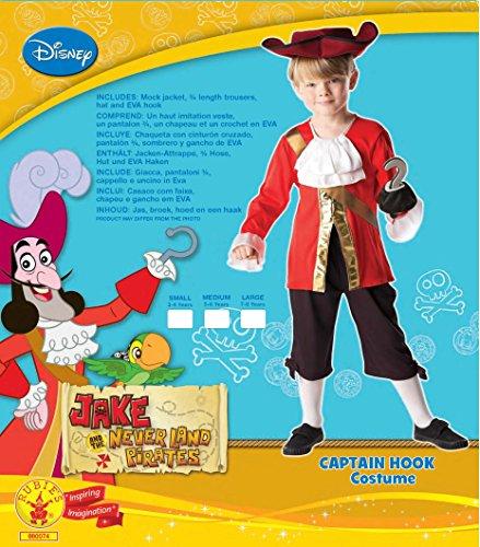 Rubie's- Disney Costume per Bambini, Multicolore, L, IT880074-L