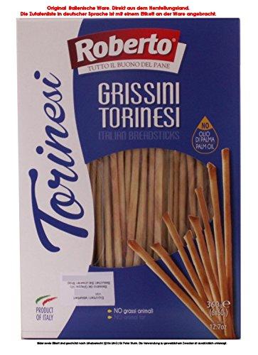 Roberto Grissini Torinesi mit Olivenöl 3,8% 5 x 360g = 1800g
