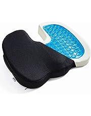 [マイギア] 椅子 クッション 低反発 座布団 腰痛 ゲル 内蔵モデル