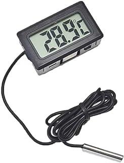 Bobury Termómetro LCD Digital para Nevera Nevera Congelador