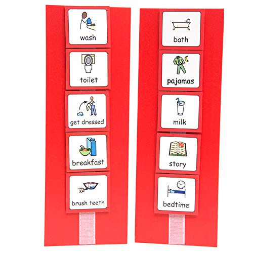 picture about Visual Cue Cards Printable known as Visible Agenda:
