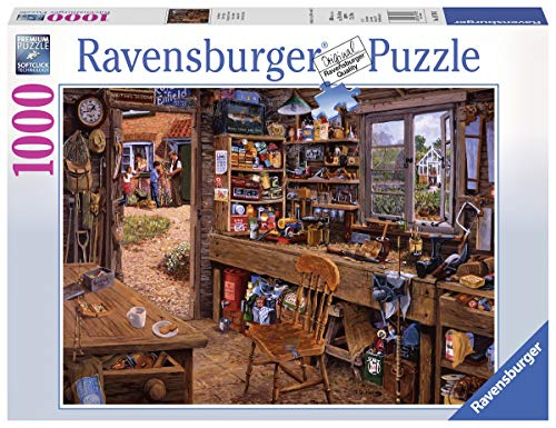 Ravensburger Puzzle 19790 - Opas Schuppen - 1000 Teile