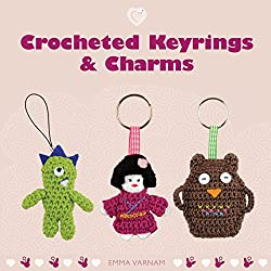 Book. Crocheted Keyrings & Charms