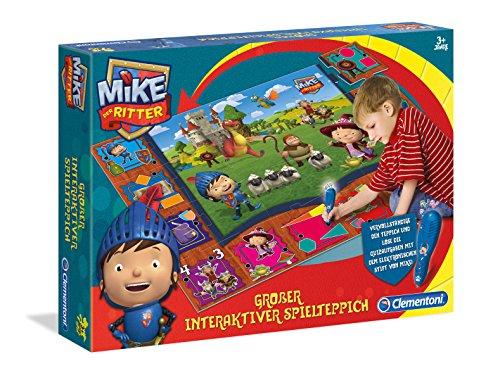 Clementoni 69361.0 - Großer interaktiver Spielteppich Mike der Ritter