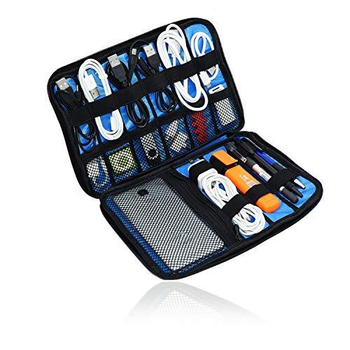 Travel Electronics - Funda organizadora para Discos Duros, Discos Flash, Cables, Tarjetas...