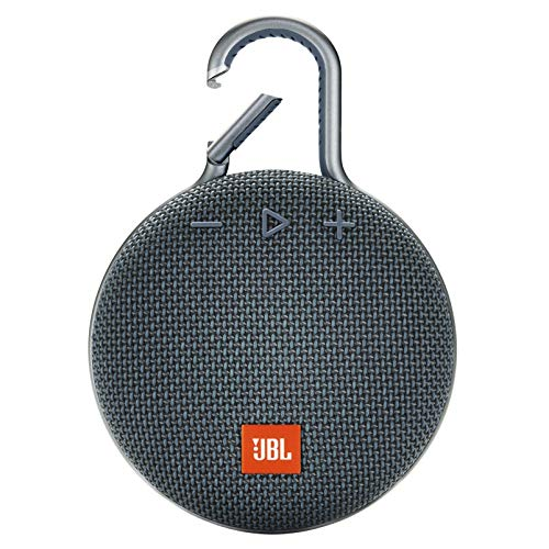 JBL CLIP 3 - Waterproof Portable Bluetooth Speaker - Blue