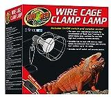 Zoo Med LF-10ec Wire Cage Klemmlampe mit Schutzgitter für Terrarien
