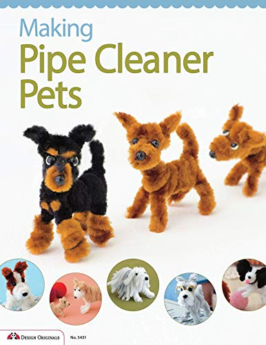 Compare Textbook Prices for Making Pipe Cleaner Pets Design Originals Learn How to Twist, Bend, and Shape 23 Adorable Dog Breeds including Terriers, Spaniels, Chihuahuas, Labrador Retrievers, Schnauzers, Pugs, Corgis, and More Illustrated Edition ISBN 9781574215106 by Boutique-Sha Of Japan