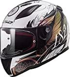 LS2 Rapid Boho Casco de Moto, Hombre, Multicolor, S