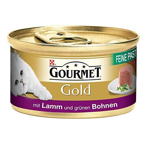 Gourmet Dose Gold Feine Pastete Lamm&Bohnen 12x 85g Katzenfutter