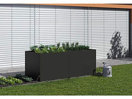 KGT Aluminium-Hochbeet 210 Anthrazit-Grau 16000030