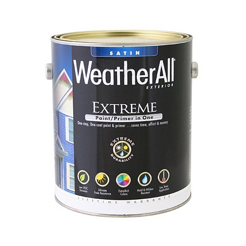 true value mfg company waesd-qt WAESD, True Value, Premium Weatherall Extreme, Paint/Primer In One, QT, Deep Base, Exterior Satin Paint