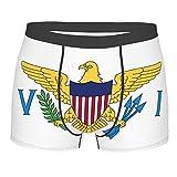 Calzoncillos tipo bóxer unisex con la bandera de los Estados Unidos de las...