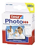 tesa® Photo Klebepads, beidseitig klebend zur Erstellung eines Fotobuches, Big Pack mit 500 Stück
