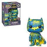 Funko POP! Art Series: DC Comics #02 - Batman [Blue & Yellow] Artist Series Exclusive with Hard Stack POP! Protector