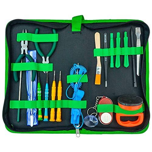 LAYMANND Beste demonteergereedschap Set Multifunctionele 18 In 1 Diy Opening Reparatie Handgereedschap Kit Voor Laptop Mobiele Telefoon Tablet Pc