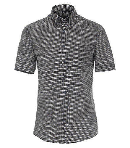 Casa Moda Comfort Fit 913635200 - Camisa de manga corta para hombre azul XL