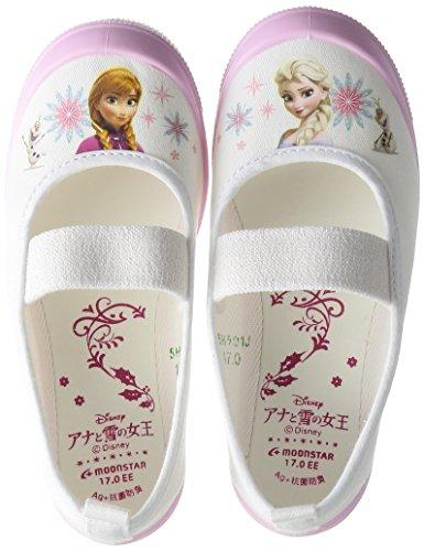[ディズニー]上履き日本製アナと雪の女王14~19cm女の子キッズアナユキバレー01ピンク18cm2E