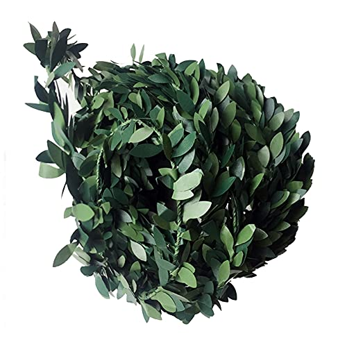 Simulation Rattan Wreath,an Overall Length of About 295.28in Artificial Wreath,PVC Material Wreath for Decoration of Office, Home, Etc.