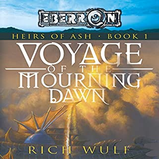 Voyage of the Mourning Dawn audiobook cover art