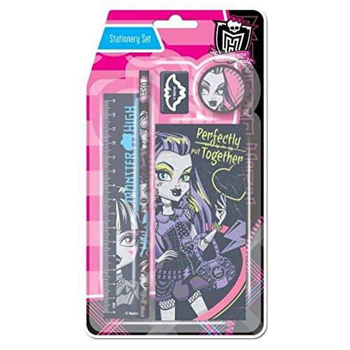 Monster High Stationery Set de 6 pièces
