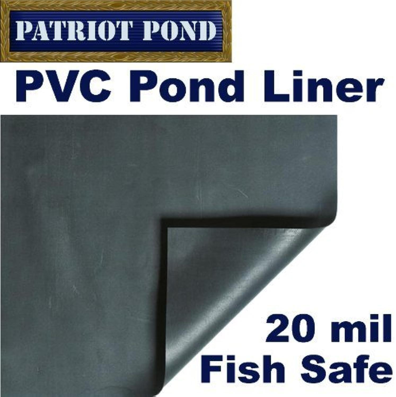 10' x 20' Patriot 20 mil PVC Pond Liner by Patriot