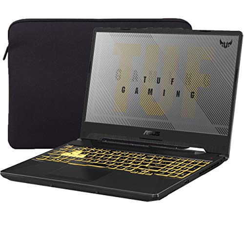 ASUS TUF VR Ready Gaming Laptop, 15.6' IPS FHD, AMD Ryzen 7 4800H Octa-Core up to 4.20 GHz, NVIDIA RTX 2060, 32GB RAM, 1TB SSD, RGB Backlit KB, RJ-45 Ethernet, Mytrix Sleeve, Win 10