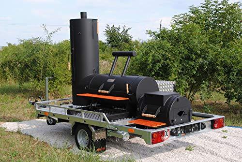 Smoky Fun BBQ Trailer Anhänger 20 Zoll Economy by grillshop