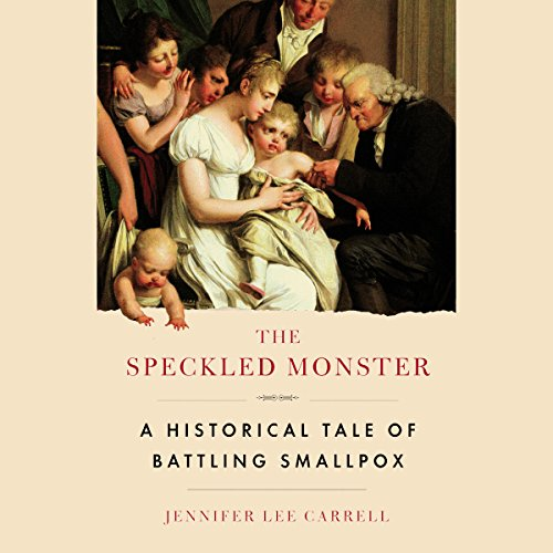 The Speckled Monster audiobook cover art