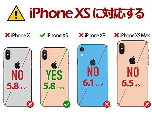 TUCCHiPhoneXSケース手帳アイフォンxsケース高級合皮TPUソフトカバー衝撃吸収カード収納ワイヤレス充電対応オートスリープ機能RFIDブロッキングマグネット留め具スタンド機能iPhoneXS(5.8インチ対応ローズピンク