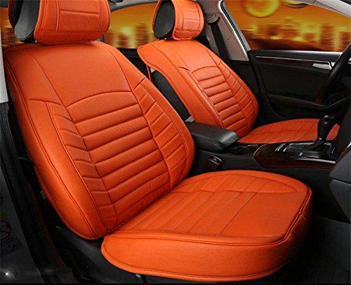 AMYMGLL Housse de siège de voiture en cuir Deluxe (17set) Edition et Standard Edition (13Réglez) Universal Car Cover Couverture Four Seasons 2 couleurs Sélection , #33