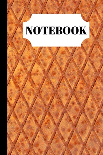 Notebook: Wrought Iron Grill Design Notebook - (Blank Lined Journal)