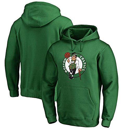 SPORTS Kapuzenpulli Boston Celtics Basketball Sportswear Loose Teen Fashion Sweatshirt Green-L
