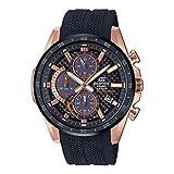 Casio Edifice Chronograph Black Dial Men's Watch EQS-900PB-1AVUDF(EX504)