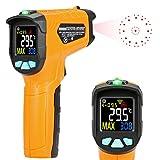 Termómetro de infrarrojos Kasimir AD-50-58 ° F ~ 1112 ° F No para el cuerpo humano Digital láser sin contacto infrarrojos pistola de temperatura pantalla apertura función de alarma de temperatura