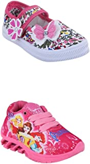 BUNNIES Baby Girls' Modern Shoes (Set of 2 Pairs)
